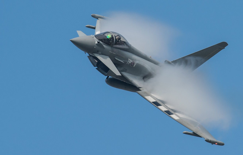 Обои fighter, military, eurofighter, Typhoon. Авиация foto 9