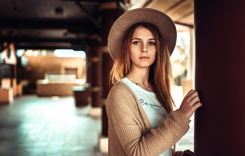 Фото обои шляпка, прелесть, Валерия Горбатова