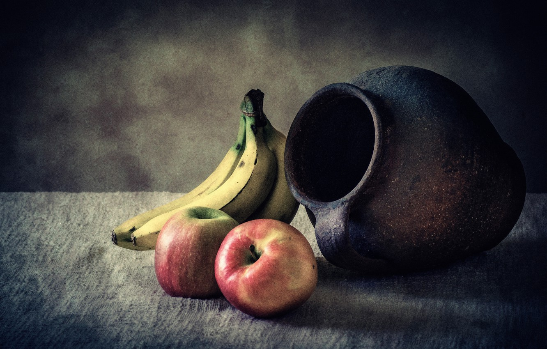 картинки натюрморт с кувшином и яблоком фото или видео