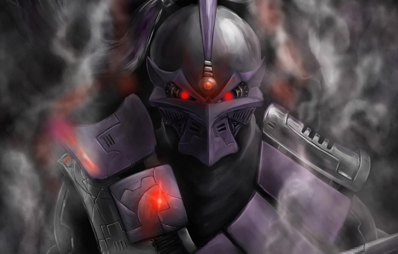 Фото обои дым, киборг, smoke, смертельная битва, грозный, mortal kombat, cyborg