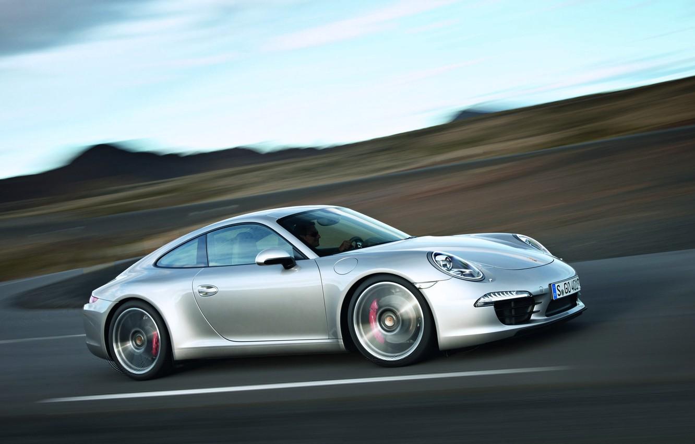Фото обои скорость, Porsche, Автомобиль