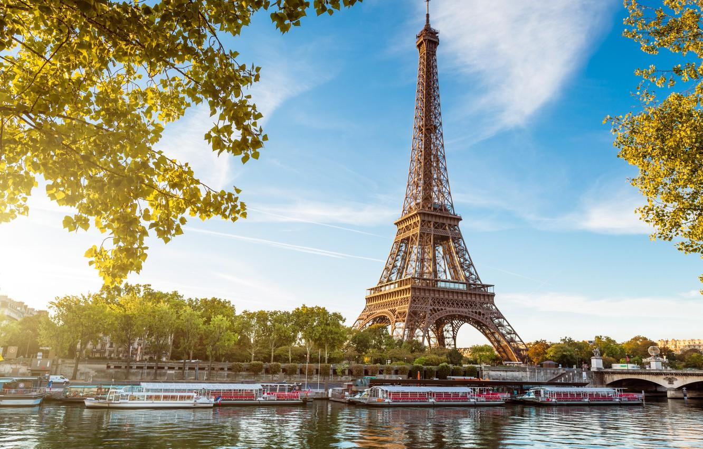 Обои Eiffel tower, france, paris, la tour eiffel. Города foto 12