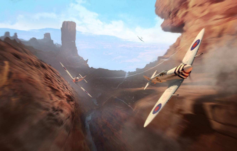 Обои wargaming.net, wowp, истребитель, рендер, Самолёт, World of warplanes. Игры foto 11