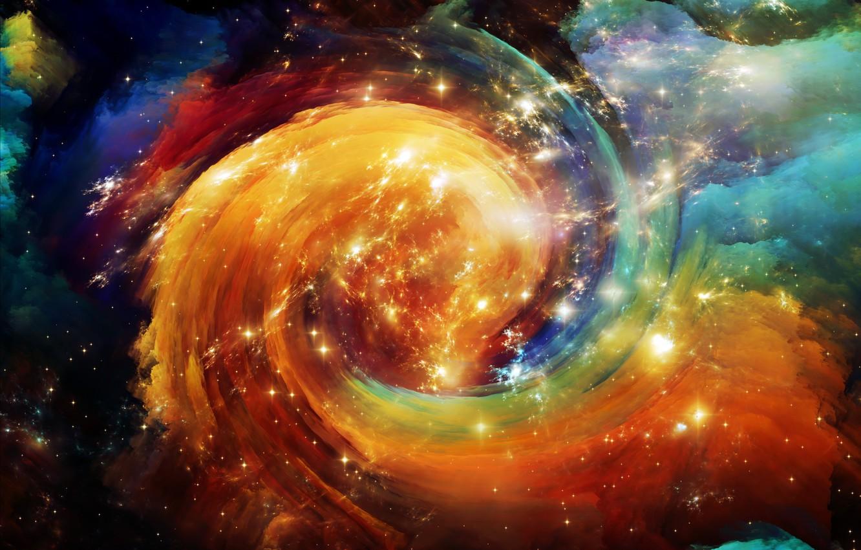 Фото обои космос, звезды, вселенная, space, Universe, background, stars, astral