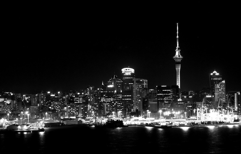 Фото обои ночь, сити, city, город, lights, огни