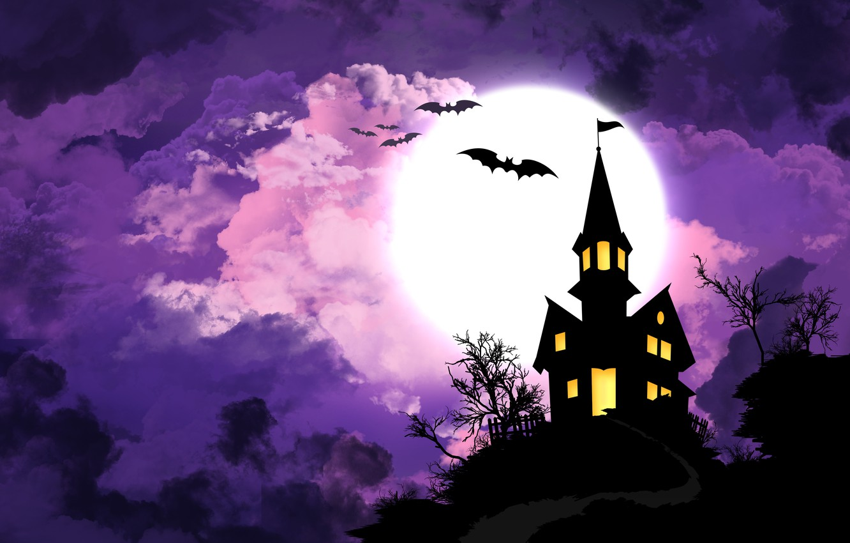 Фото обои Halloween, Хэллоуин, All Saints\' Eve