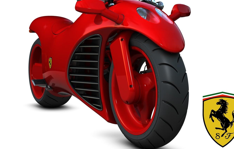 Фото обои concept, ferrari, bike, prototype, wallpapers, motorsport