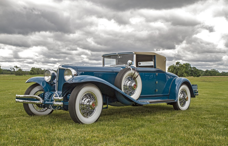 Фото обои ретро, классика, Cord, 1931 Cord L-29 Cabriolet
