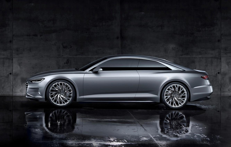 Фото обои Concept, Audi, 2014, Prologue