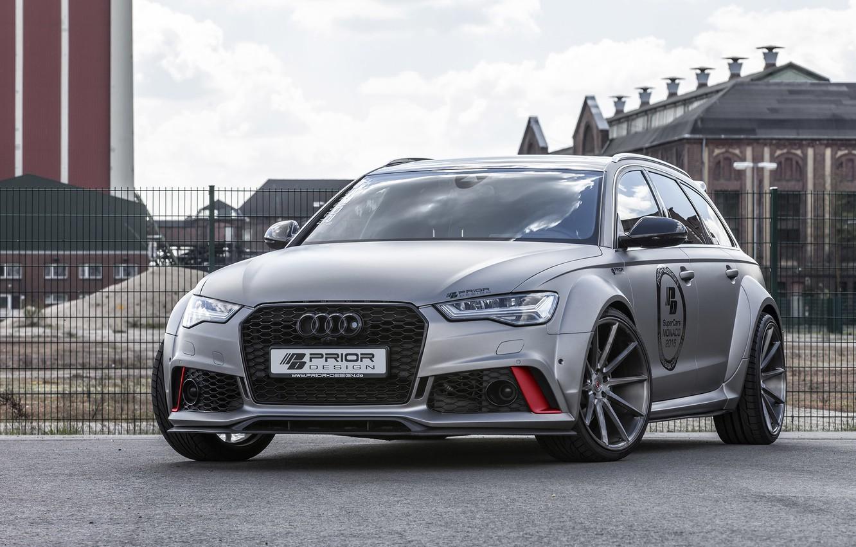 Фото обои Audi, ауди, универсал, Avant, Prior-Design, RS 6, PD600R