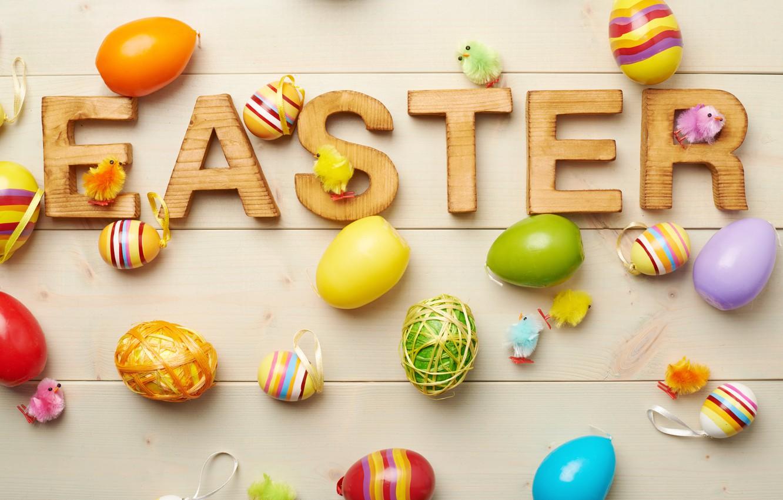 Фото обои яйца, Пасха, декор, Easter, eggs