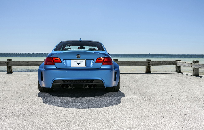 Обои Облака, синий, blue, Bmw, M3, задок. Автомобили foto 13