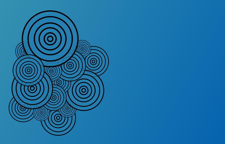 Фото обои круги, абстракция, узоры, vector, вектор, circles, patterns, 1920x1200, abstraction