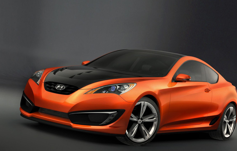 Фото обои Concept, Hyundai, Coupe, Genesis