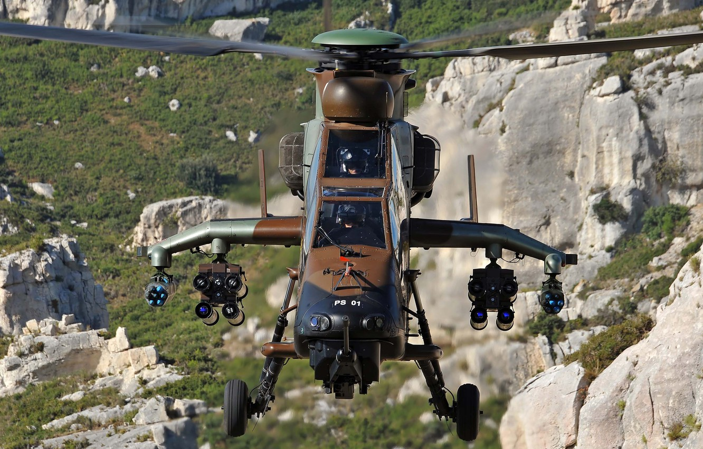 Обои ec 665, ударный, Tiger, Eurocopter. Авиация foto 10