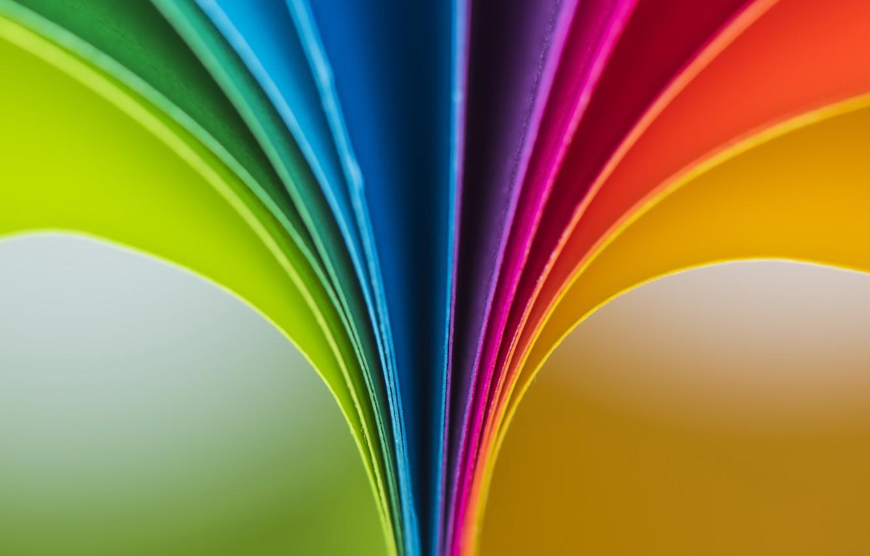 Фото обои макро, бумага, цвет