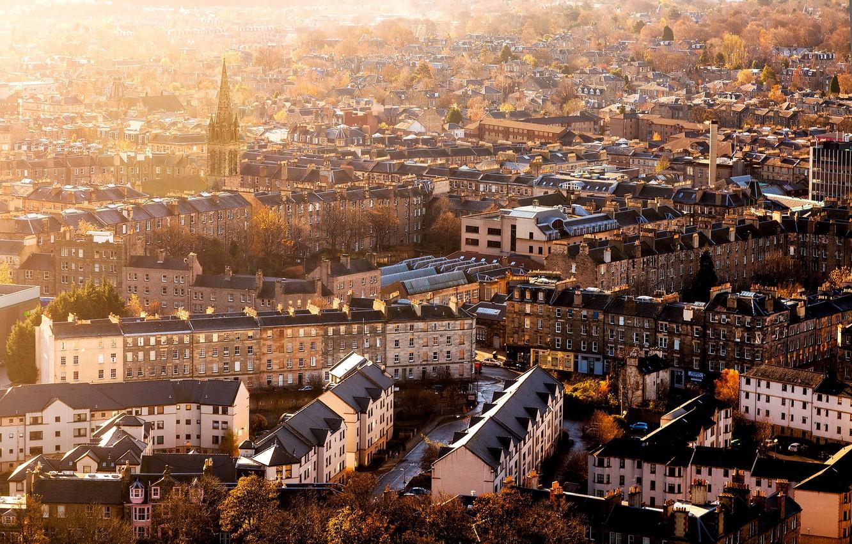 Обои scotland, эдинбург, утро, Шотландия, edinburgh. Города foto 7