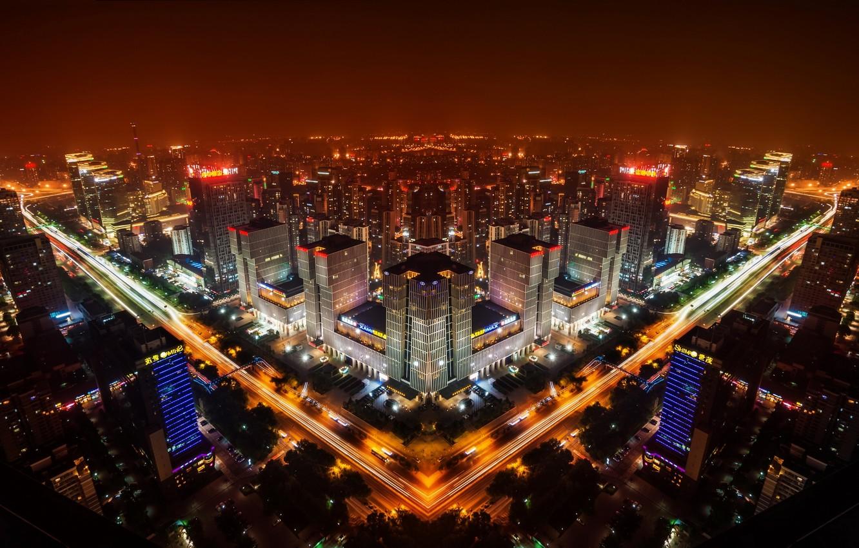 Обои beijing , пекин, ночной город, china, китай. Города foto 6