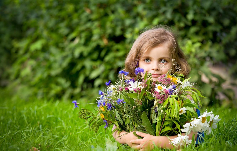 Обои настроение, Девочка, цветок. Настроения foto 14