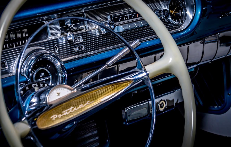 Фото обои Pontiac, 1957, Convertible, Starchief