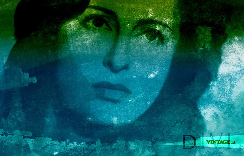 Фото обои итальянская актриса, Anna Magnani, DIVI COLLECTION
