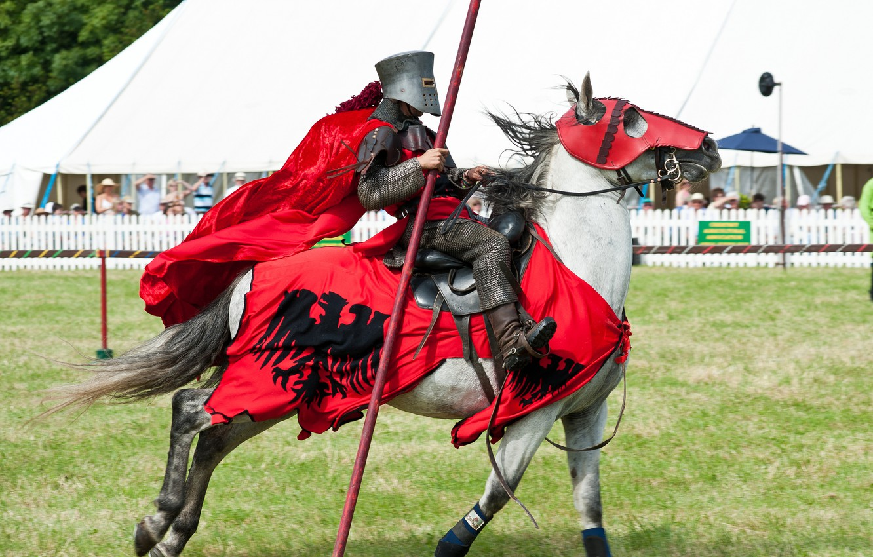 Обои доспехи, Рыцарь, лошадь. Разное foto 10