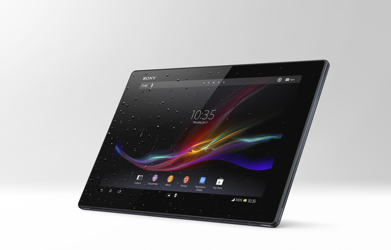 Фото обои планшет, sony, xperia, tablet