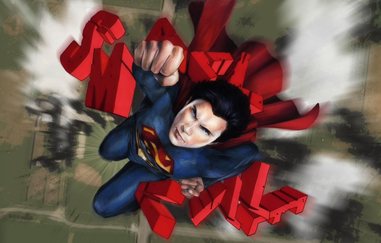 Фото обои актер, сериал, Супермен, comics, Кларк Кент, Том Уэллинг, Тайны Смолвиля, Smallville, Tom Welling, Season 11