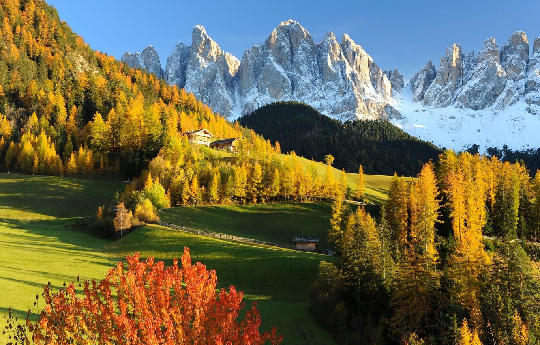 Обои альпы, Пейзаж. Минимализм foto 13