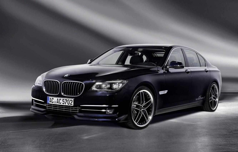 Фото обои фон, бмв, BMW, седан, AC Schnitzer, 7-Series, F01