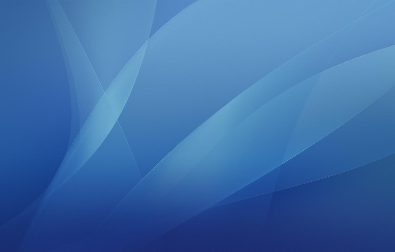Фото обои apple, mac, blue, Aqua