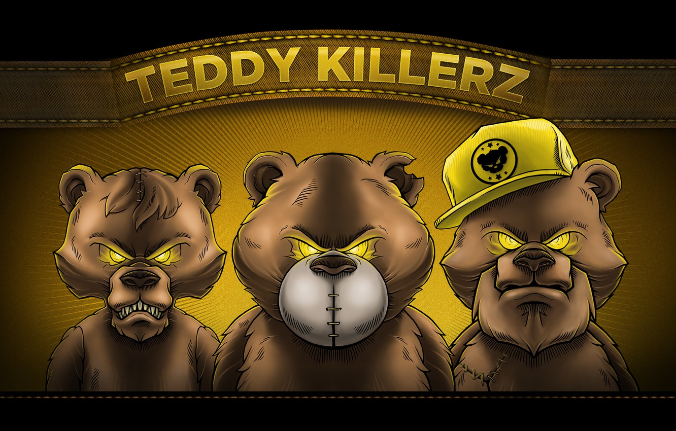 Фото обои Art, Drum and Bass, Dubstep, OWSLA, Artists, Teddy Killerz, Trap