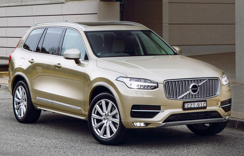 Фото обои Volvo, XC90, вольво, AU-spec, 2015, Inscription