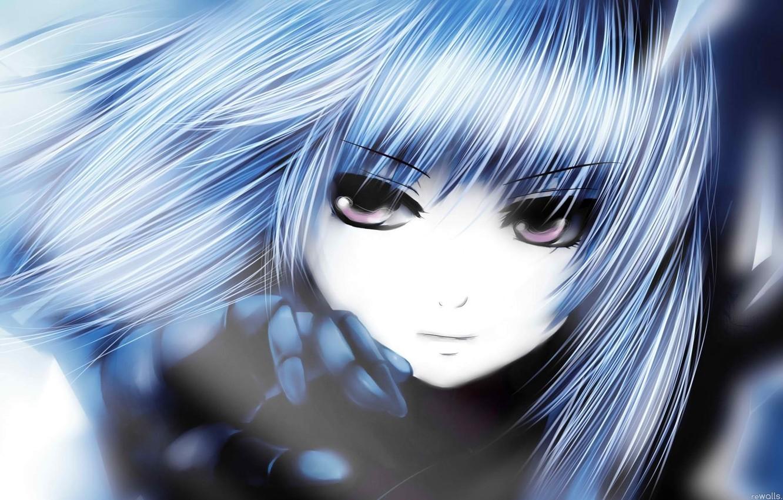Фото обои глаза, девушка, аниме, Battle Angel Alita