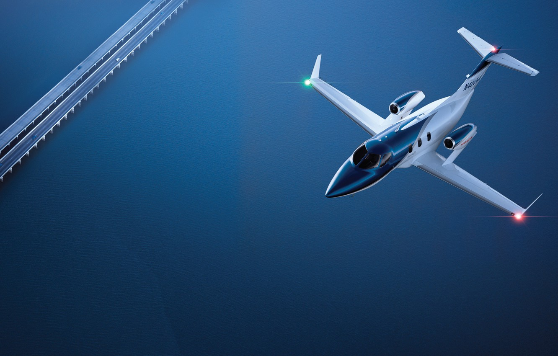 Фото обои самолет, HA-420, hondajet
