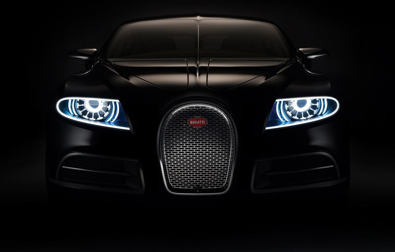 Фото обои Bugatti, Galibier, Concept2009
