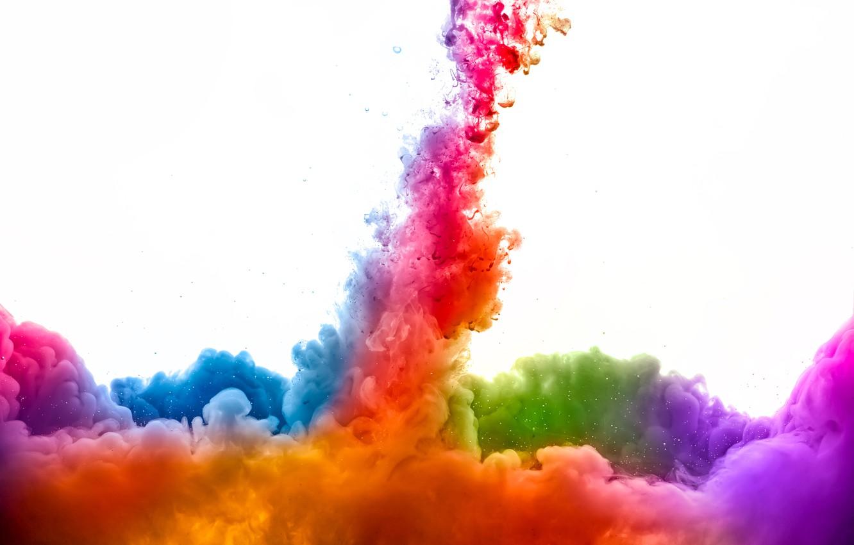 Обои яркость, Цвет, дым. Абстракции foto 6