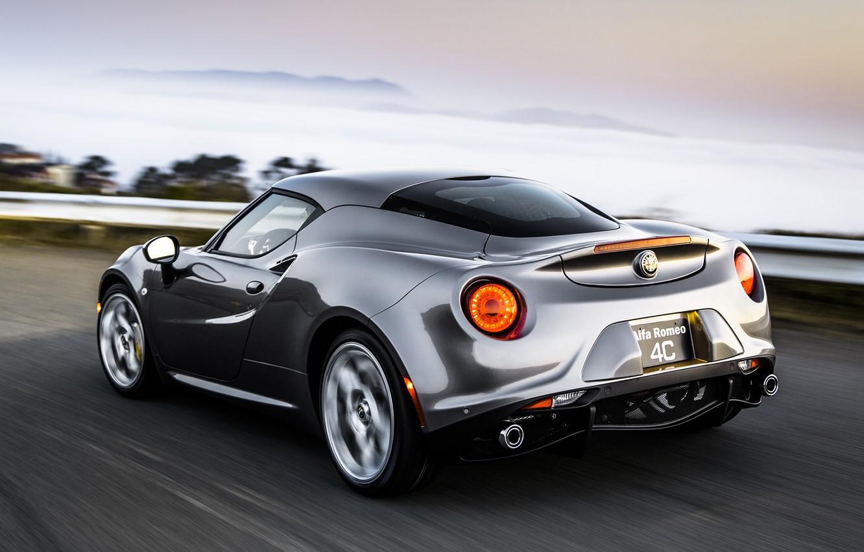 Фото обои auto, cabrio, Alfa romeo