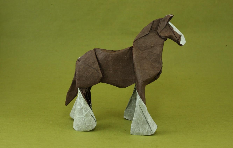 Обои Белка, Origami, бумага. Разное foto 19