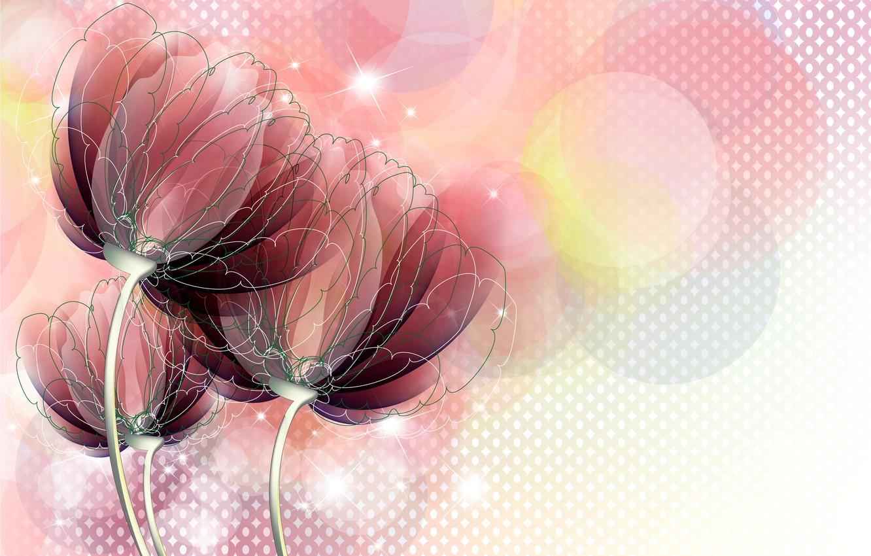 Красивые картинки цветы абстракция