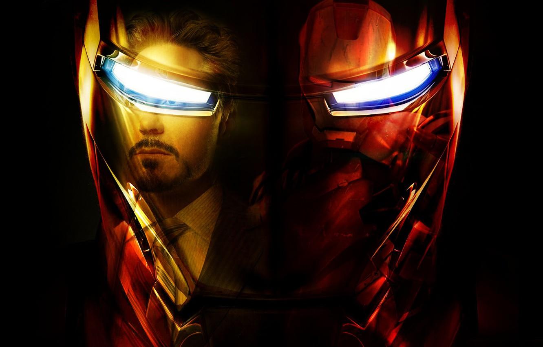 Фото обои шлем, Железный человек, iron man, Marvel Comics, tony stark