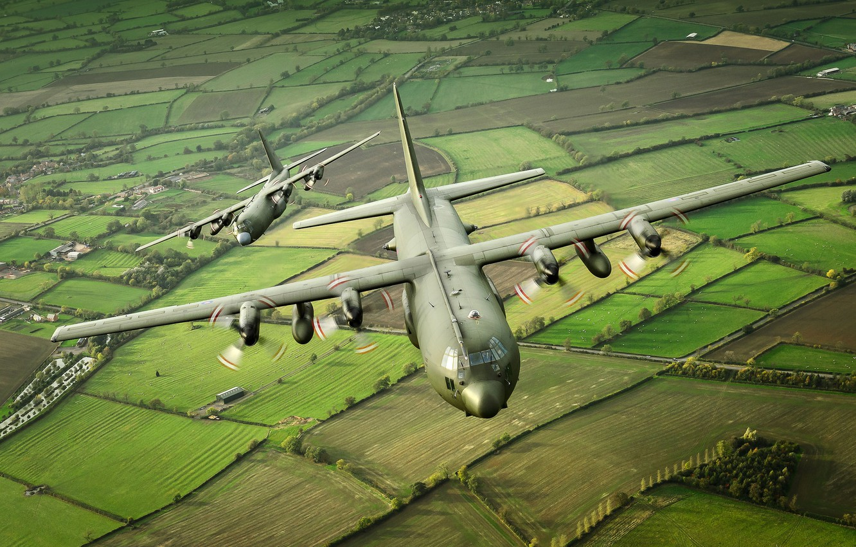 Обои C-130k, самолеты, hercules, военно-транспортные. Авиация foto 7