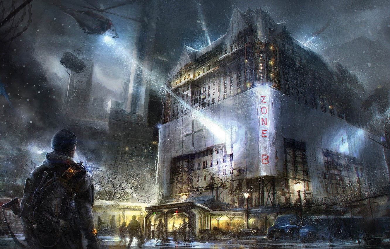 Обои здания, ubisoft entertainment, Tom clancys the division. Игры foto 7