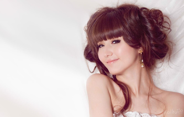 Фото обои girl, Asian, beautiful, Leni Lan