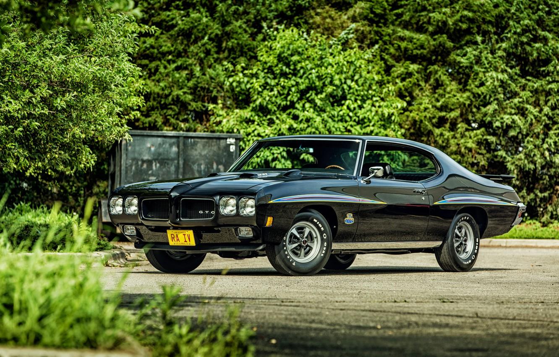Фото обои купе, Coupe, Pontiac, GTO, 1970, понтиак, Hardtop