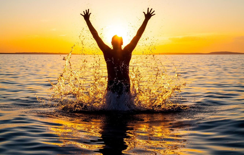 Обои качели, свобода, лето, радость. Настроения foto 13