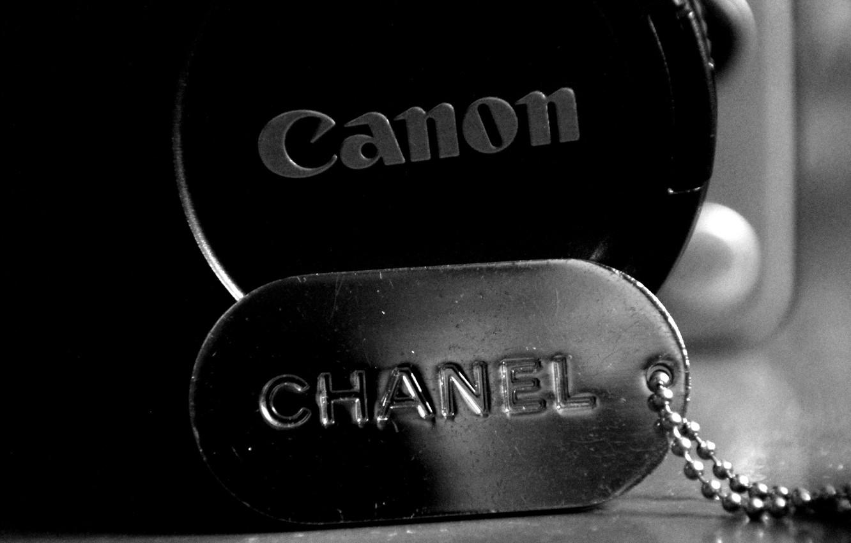 Фото обои монохром, canon, chanel