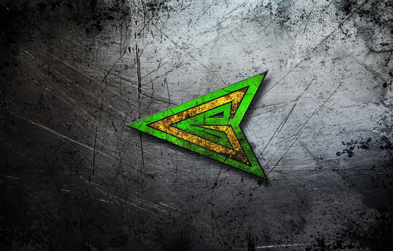 Фото обои металл, фон, текстура, царапины, центр, стальной, изумрудный, green arrow, зеленая стрела, боевой., наконечник