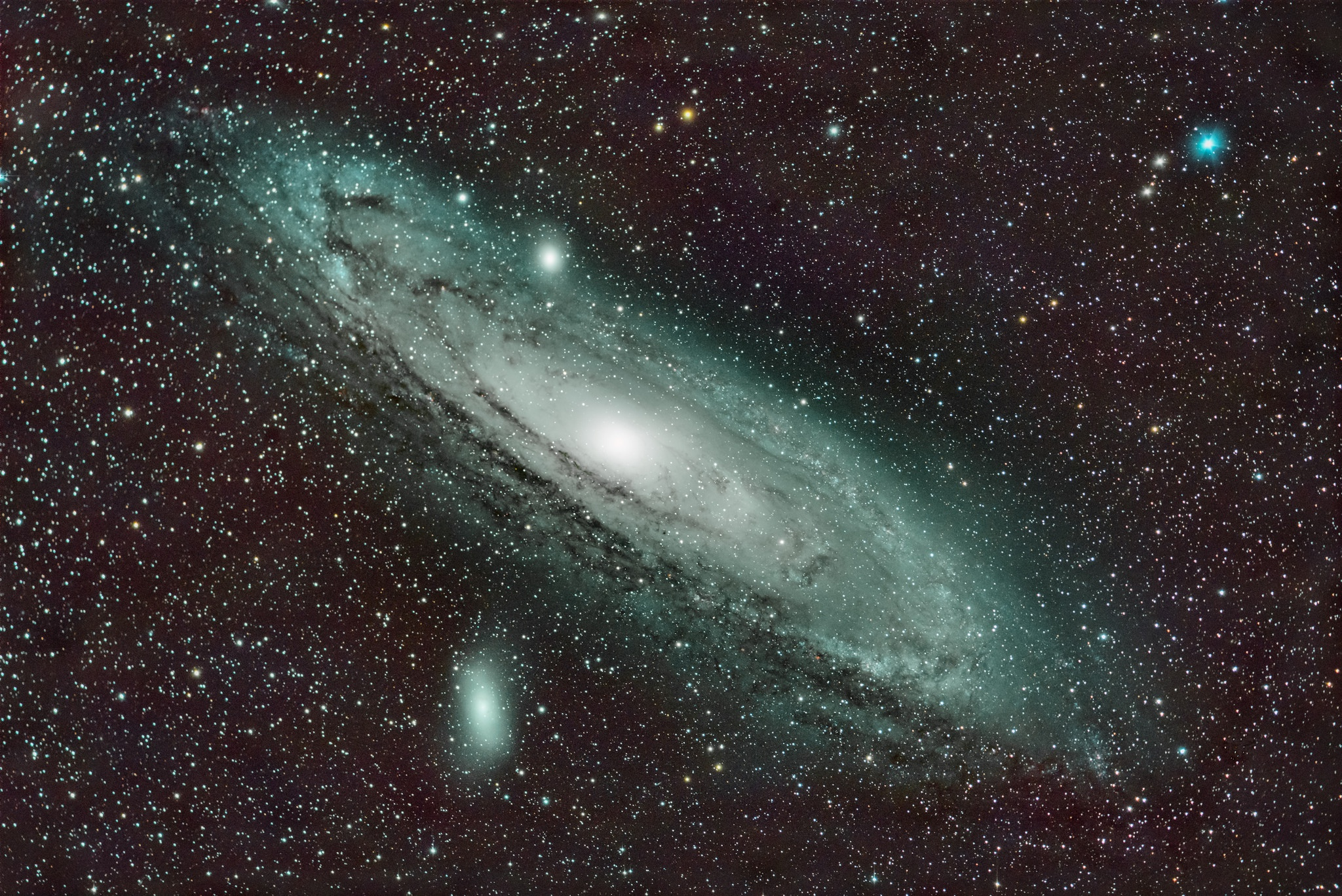 andromeda galaxy distance from earth - HD 1200×801