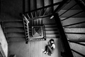 Картинка stairs, loneliness, girl